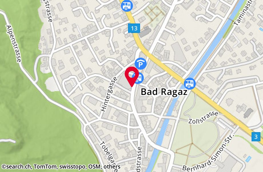 Am Platz 4,7310 Bad Ragaz