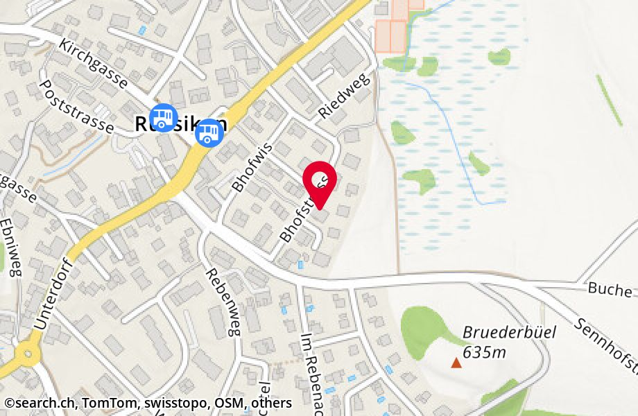 Bhofstrasse 33,8332 Russikon
