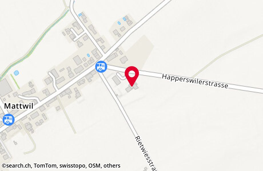Happerswilerstrasse 1,8585 Mattwil