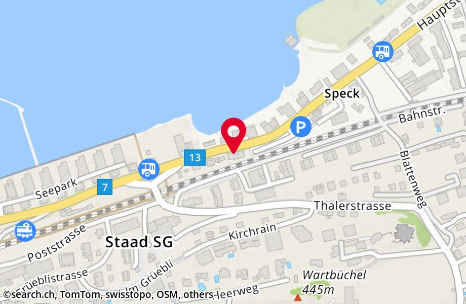Hauptstrasse 58,9422 Staad