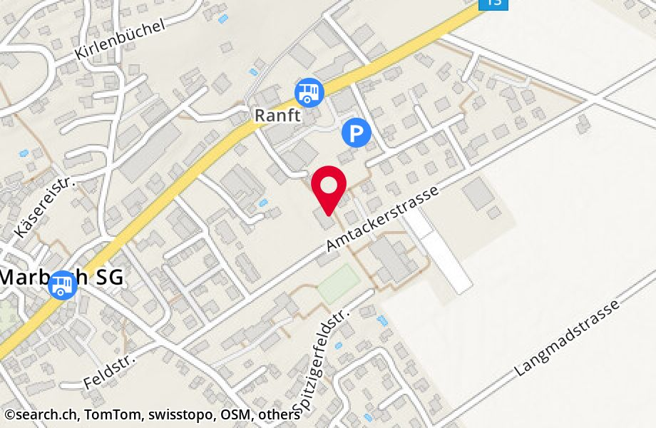 Amtackerstrasse 13,9437 Marbach