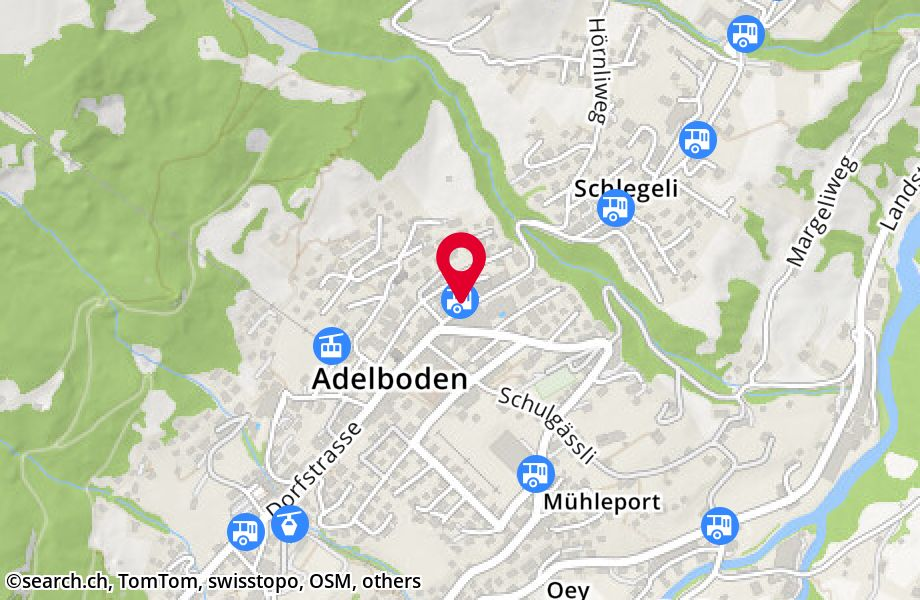 Adelboden, Post