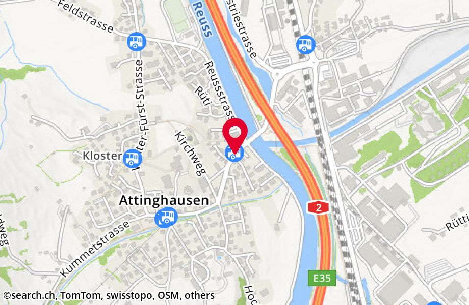 Attinghausen, Post