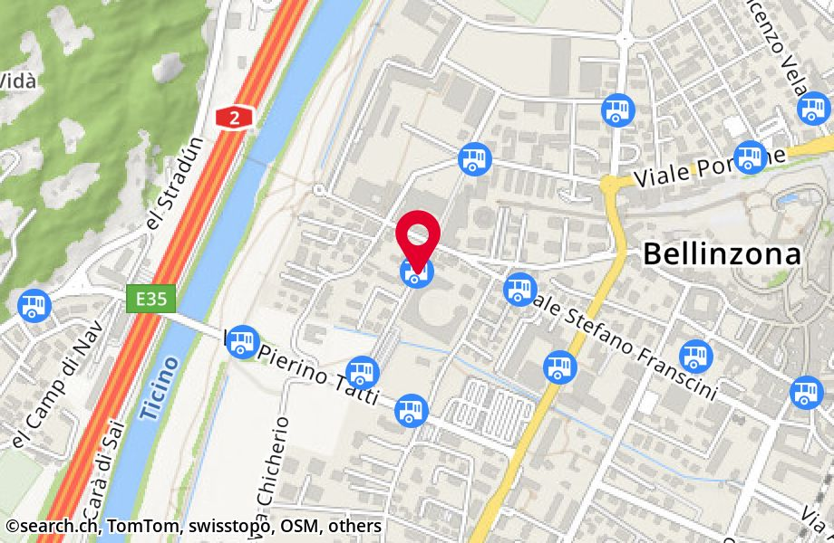 Bellinzona, Business Center