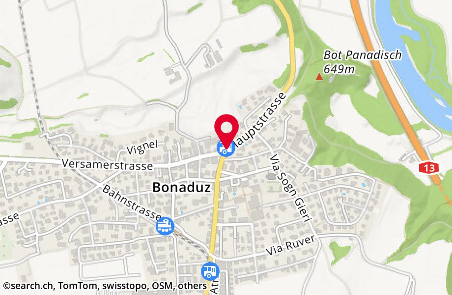 Bonaduz, alte Post