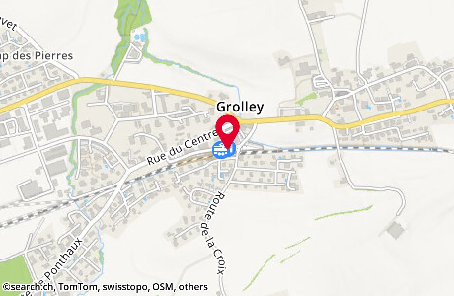 Grolley, gare