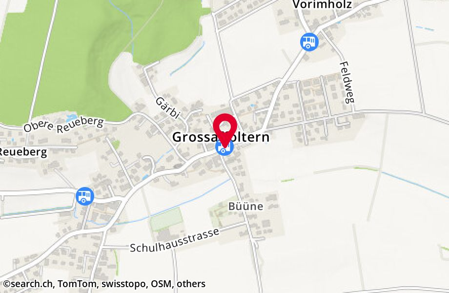 Grossaffoltern, Post