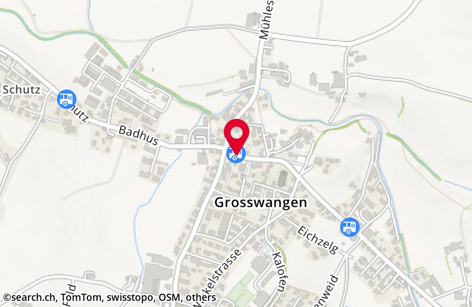 Grosswangen, Post