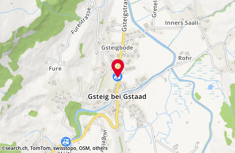 Gsteig b. Gstaad, Post
