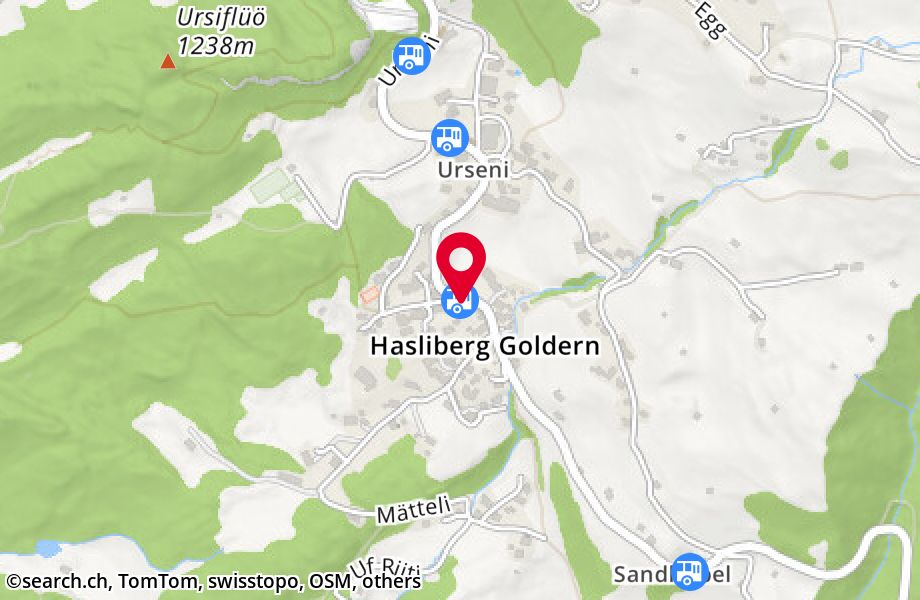 Hasliberg Goldern, Post