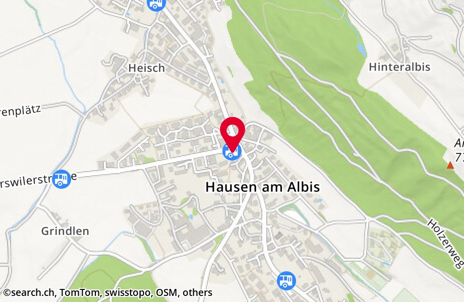 Hausen am Albis, Post