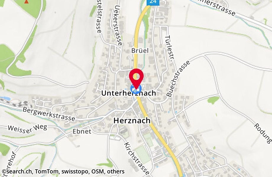 Herznach, Post