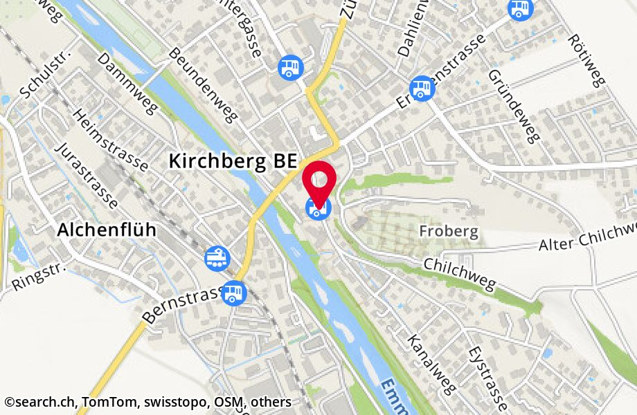 Kirchberg BE, Post