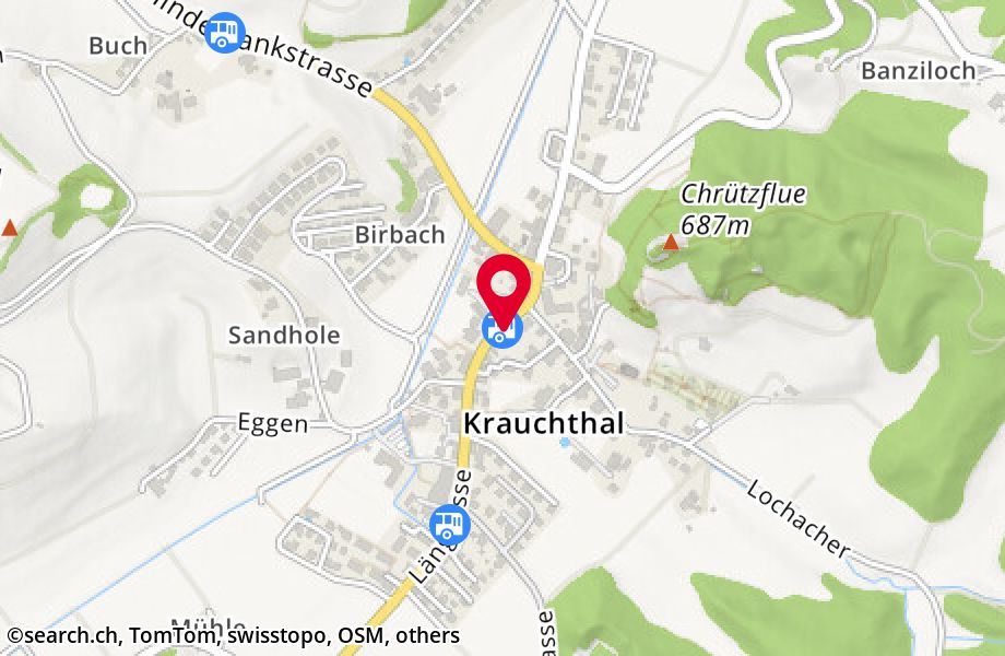 Krauchthal, Post