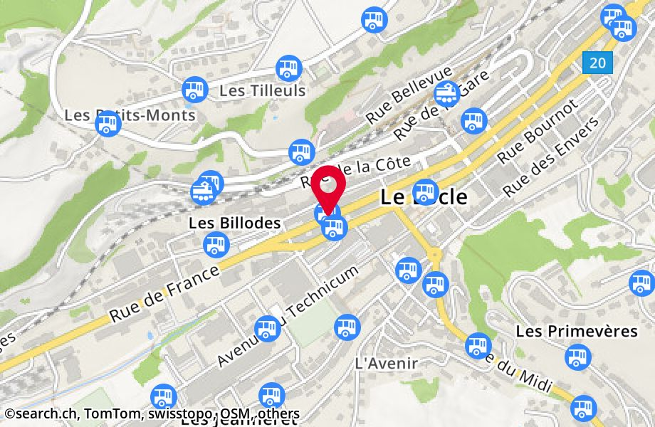 Le Locle, Lux