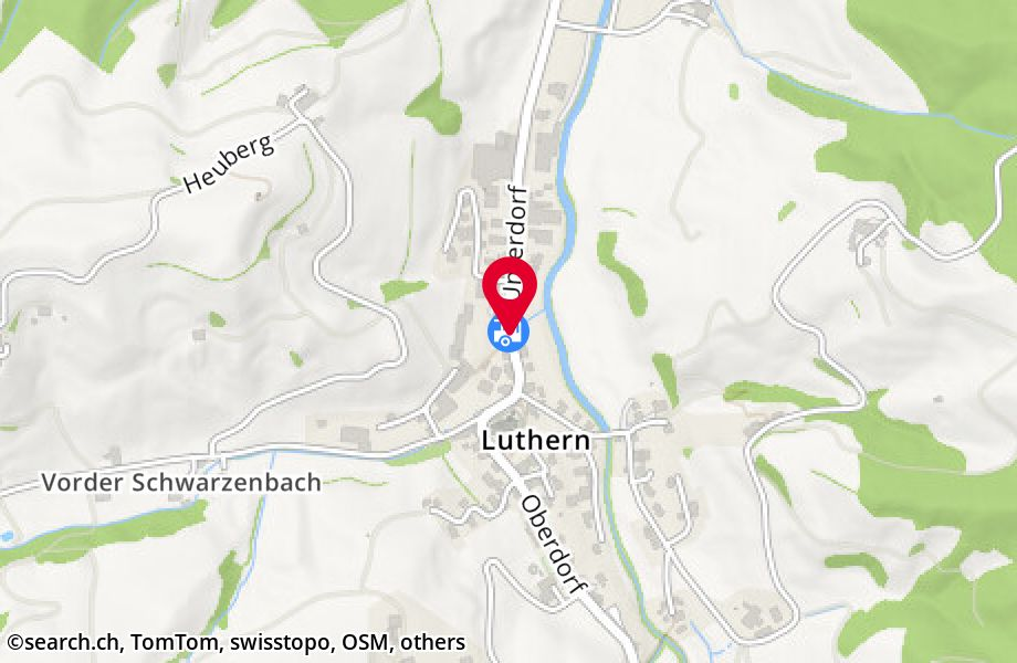 Luthern Dorf, Post
