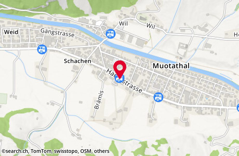 Muotathal, Post
