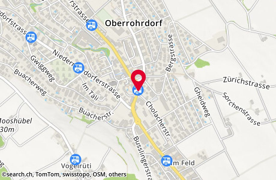 Oberrohrdorf, Post