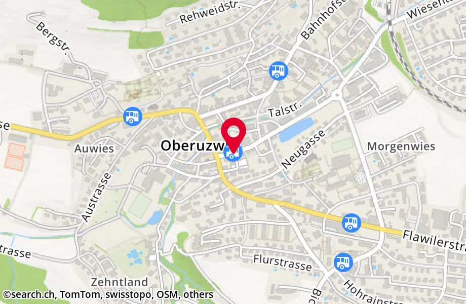 Oberuzwil, Post