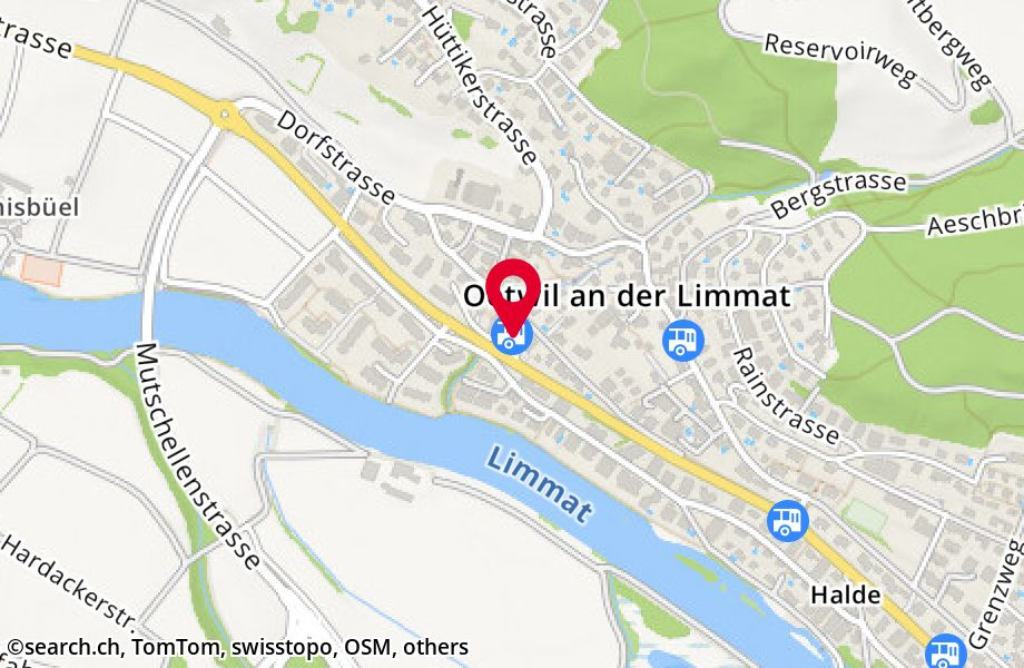 Oetwil an der Limmat, Post