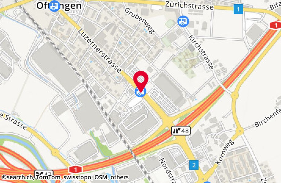 Oftringen, Kallernhag/Center A1