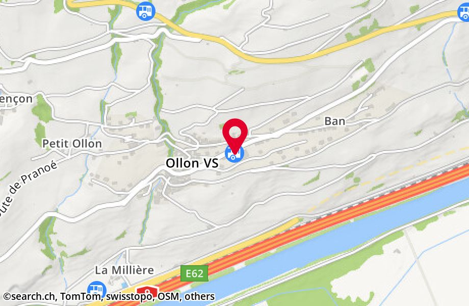 Ollon VS, village