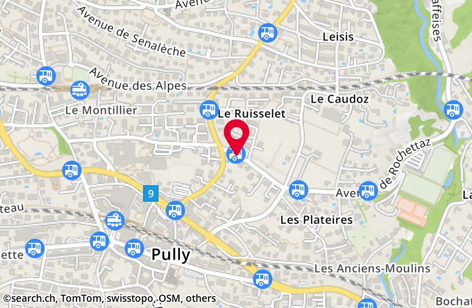Pully, Ruisselet