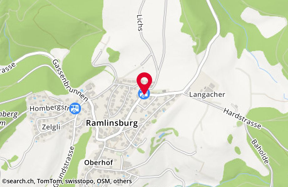Ramlinsburg, Brunnacker