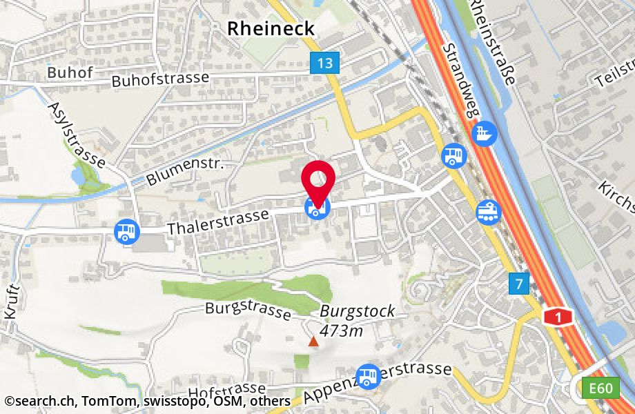 Rheineck, National