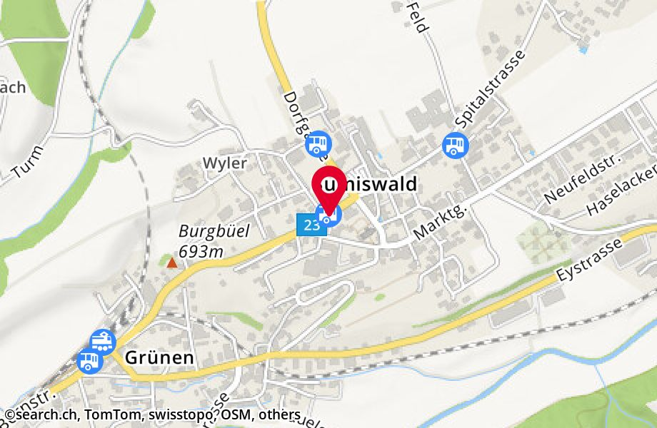 Sumiswald, Post