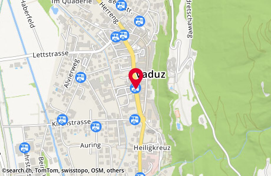 Vaduz, Post