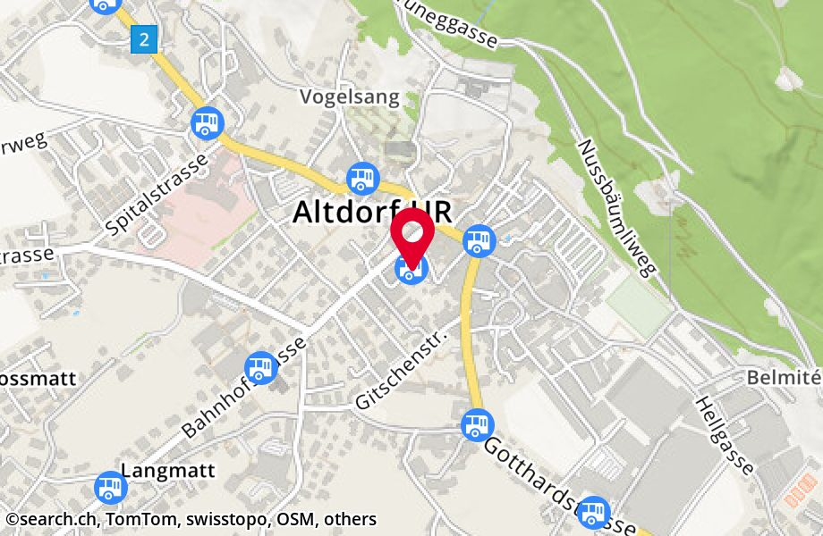 Altdorf UR, Post