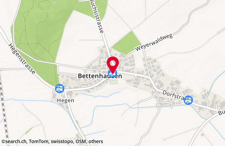 Bettenhausen, Post