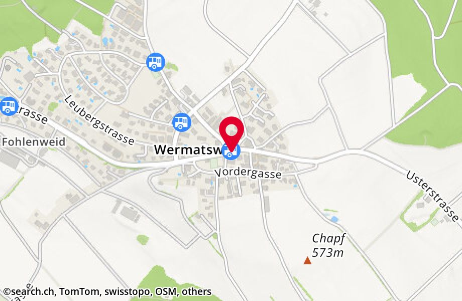 Wermatswil, Post