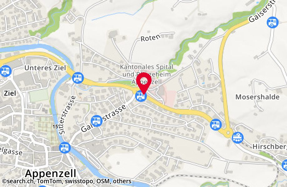 Appenzell, Spital