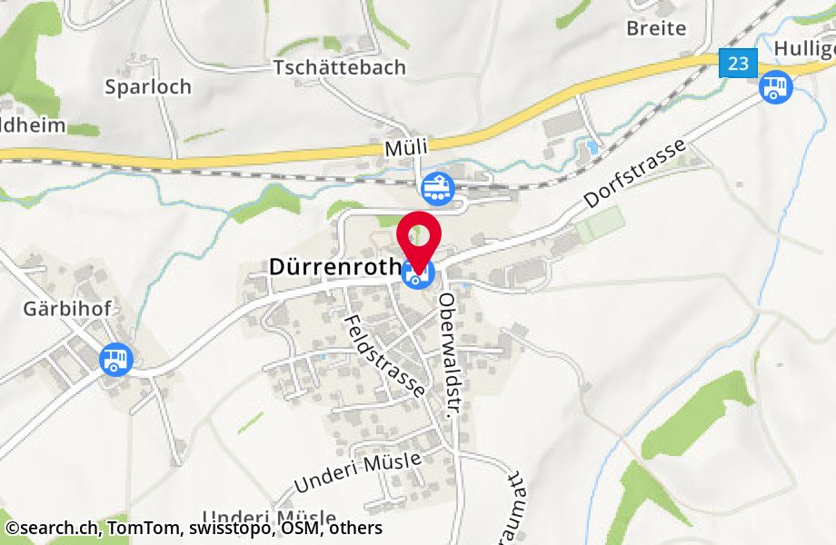 Dürrenroth, Dorf