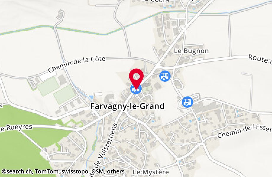 Farvagny-le-Grand, centre