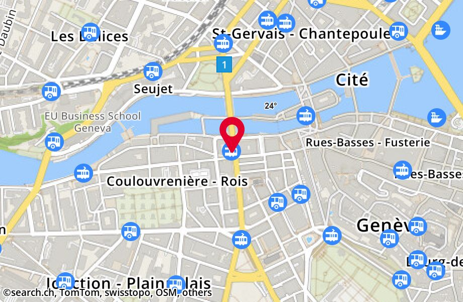 Genève, Stand