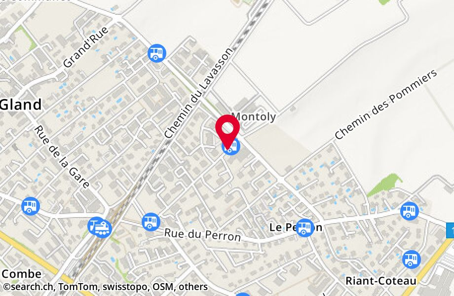 Gland, Montoly