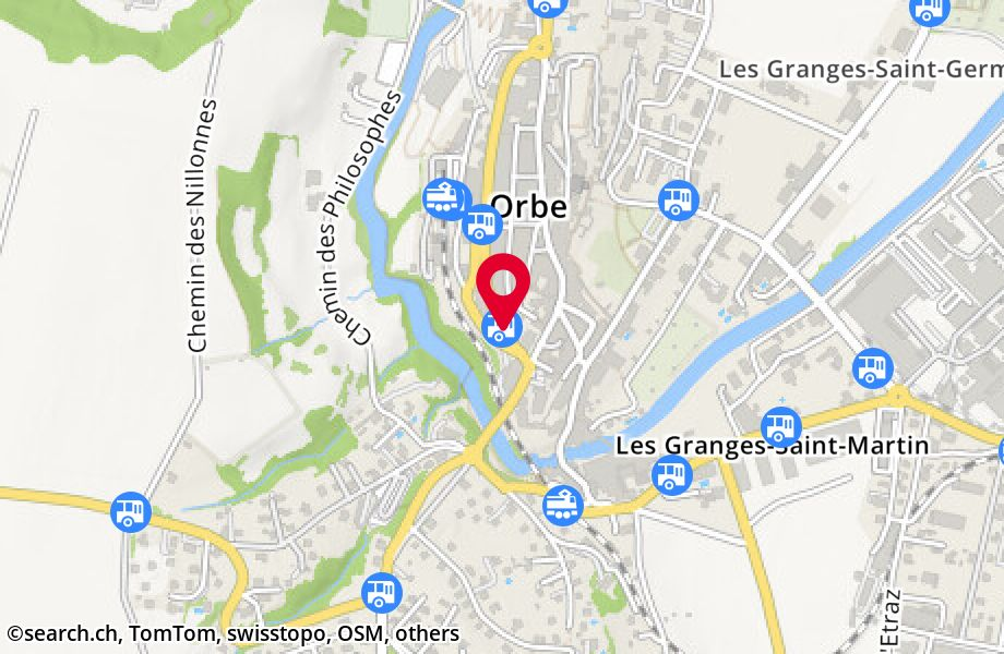 Orbe, collège