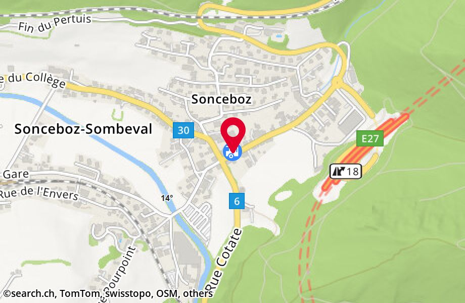 Sonceboz-Sombeval, Couronne