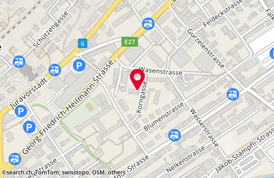 Biel Map | Switzerland Google Satellite Maps