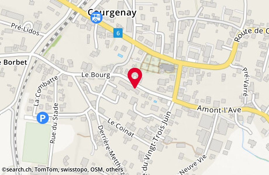 Le Bourg 24, 2950 Courgenay