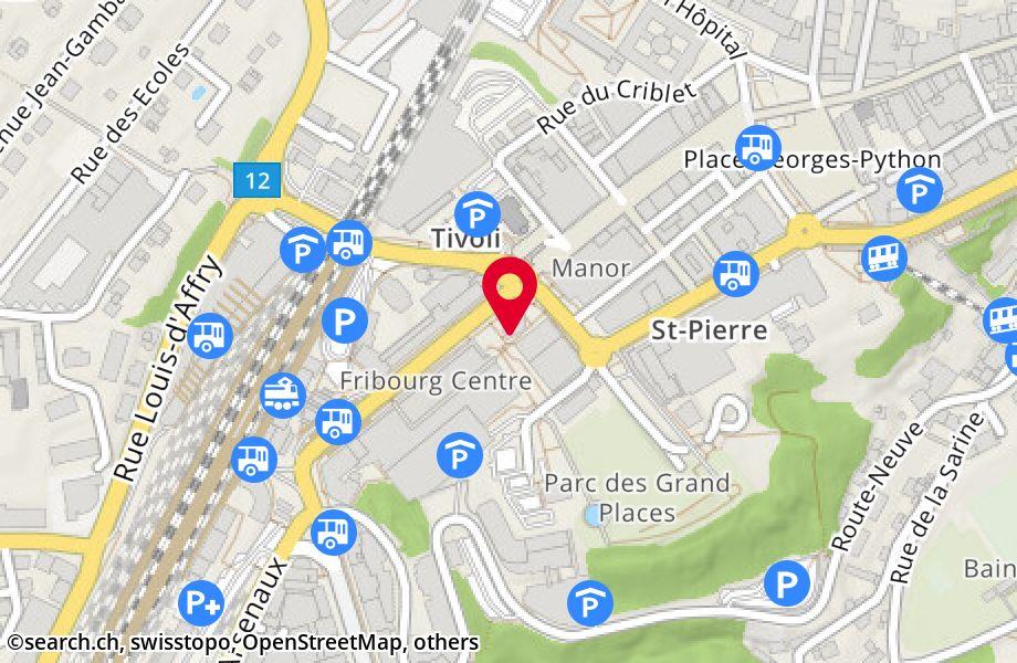 3b40b63f8541f7 Avenue de la Gare 22, 1700 Fribourg