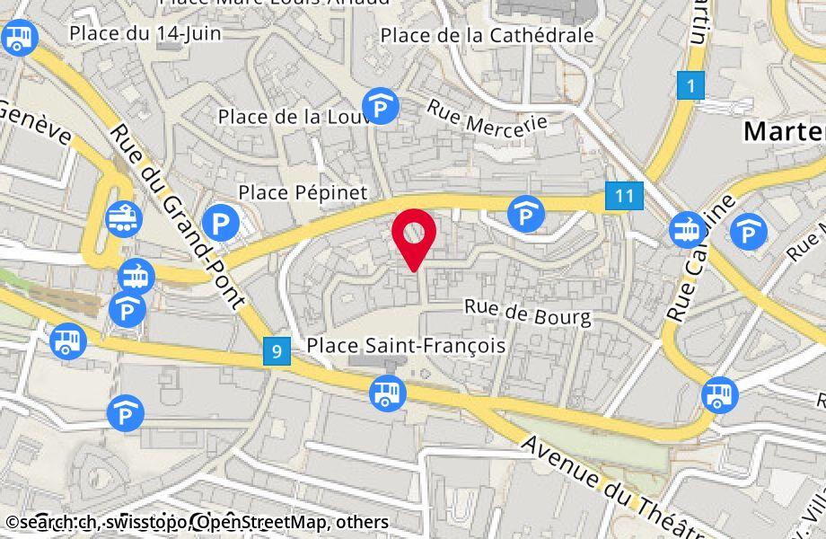 rue Saint-François 14, 1003 Lausanne 48fa097f475c