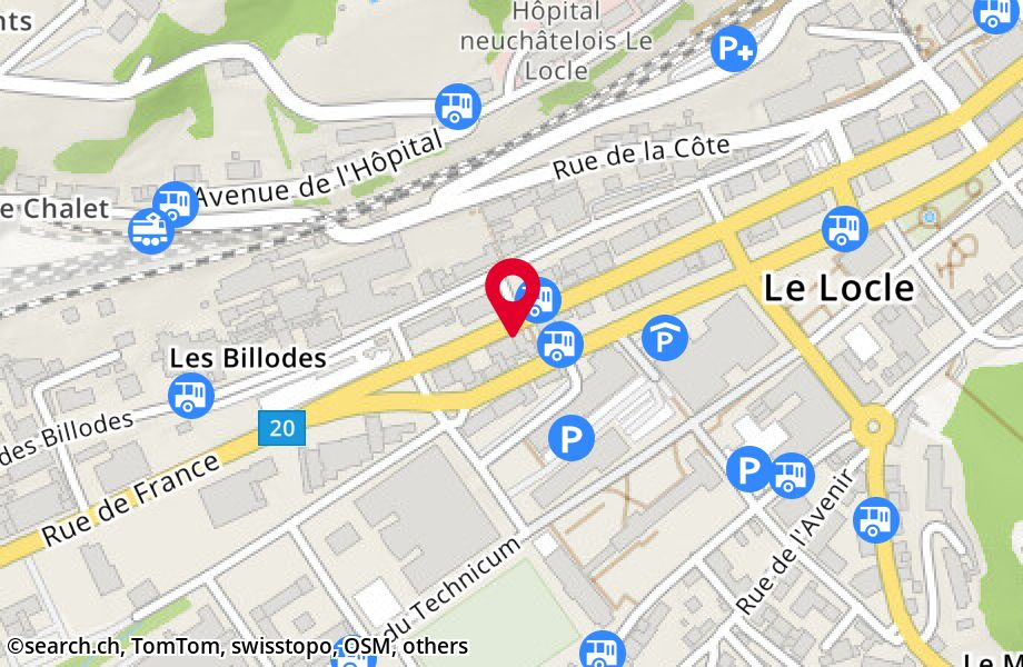 Rue de France 31, 2400 Le Locle