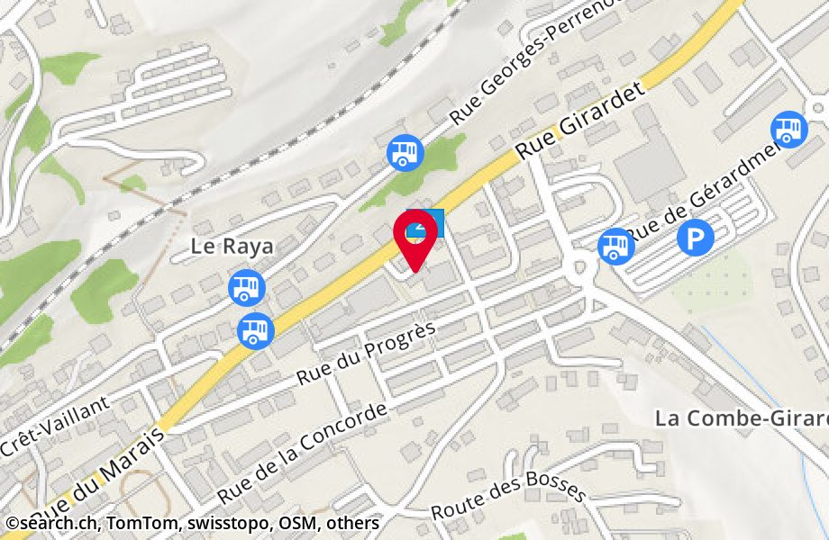 rue Girardet 45, 2400 Le Locle