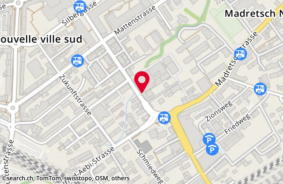 Satellite map of Biel/Bienne : Google™ — share any place ...